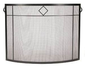 Diamond Curved Screen – Graphite