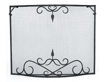 Bostonian Curved Fire Screen – Large