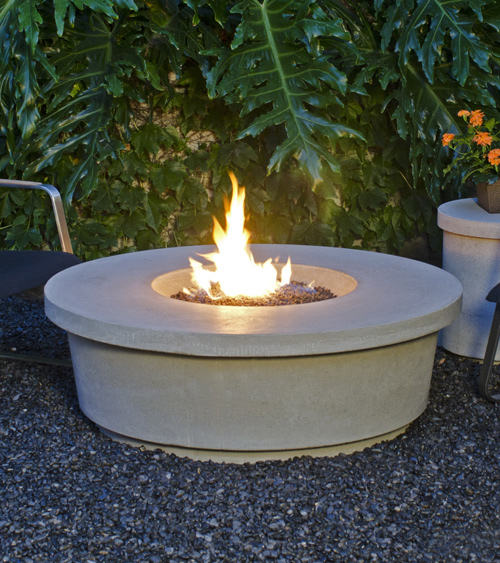 Fire table:  Contempo Round Firetable