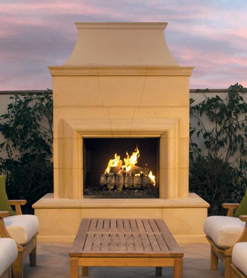 Cordova Outdoor Fireplace