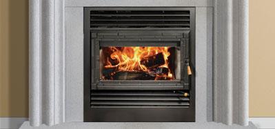 The Onyx 2 fireplace